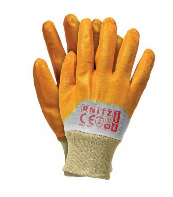 Rękawice ochronne, powlekane nitryl lekki RNITZ