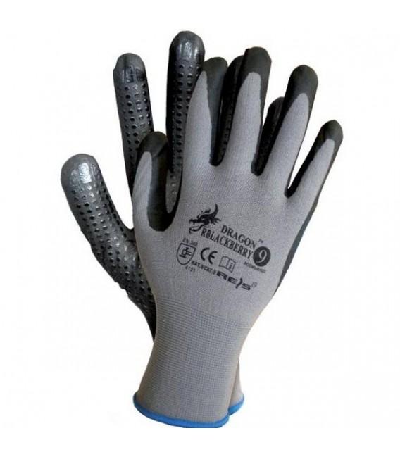 Rękawice ochronne lycra z nylonem RBLACKBERRY
