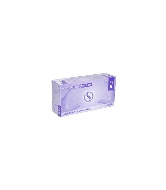 Sempercare® Nitrile Skin², Rękawice ze sztucznego lateksu, bezpudrowe