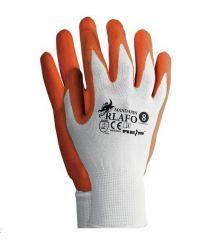 Rękawice RLAFO Mandarin powlekane spienionym latexem