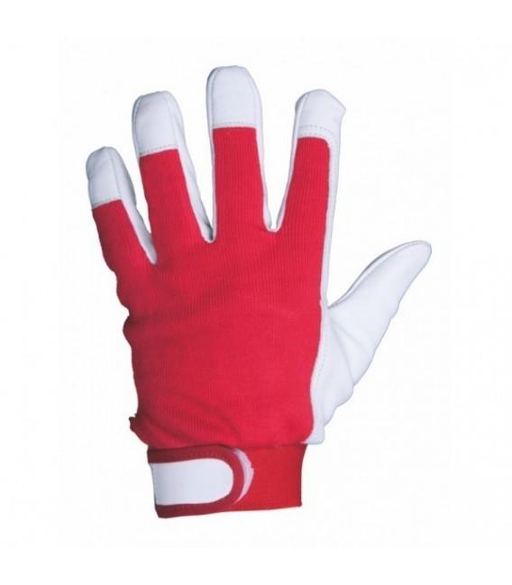 Rękawice wzmacniane skórą, licową kozią Rtop-Ex