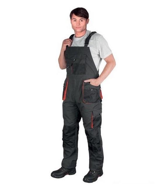 Spodnie robocze ogrodniczki FORECO-B