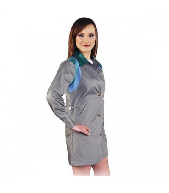 Fartuch ochronny damski z długim rękawem LH-COLVISER