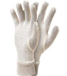 Rękawice bawełniane ze ściągaczem RWKS