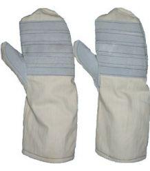 Rękawice termoodporne Łapki jednopalcowe długie 40 cm