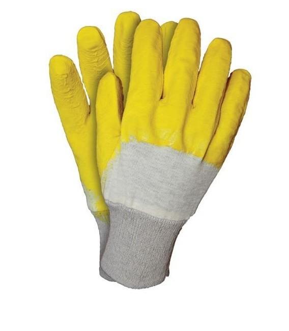 Rękawice powlekane gumą GRIP ze ściągaczem RGS