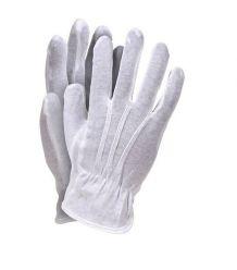 Rękawice wykonane z bawełny frak RWKBLUX
