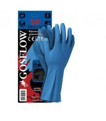 Rękawice lateksowe gospodarcze GOSFLOW