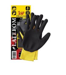 Rękawice ochronne nylon, powlekane gumą LATEFOM