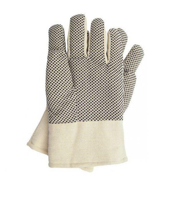 Rękawice drelichowe, ocieplane z nakropieniem RNO