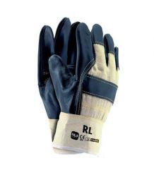 Rękawice wzmacniane skórą licową RL