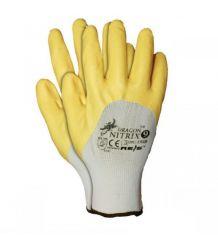 Rękawice ochronne, powlekane nitryl NITRIX