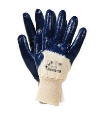 Rękawice ochronne, powlekane, nitryl cieżki RNITNS rozm. 10