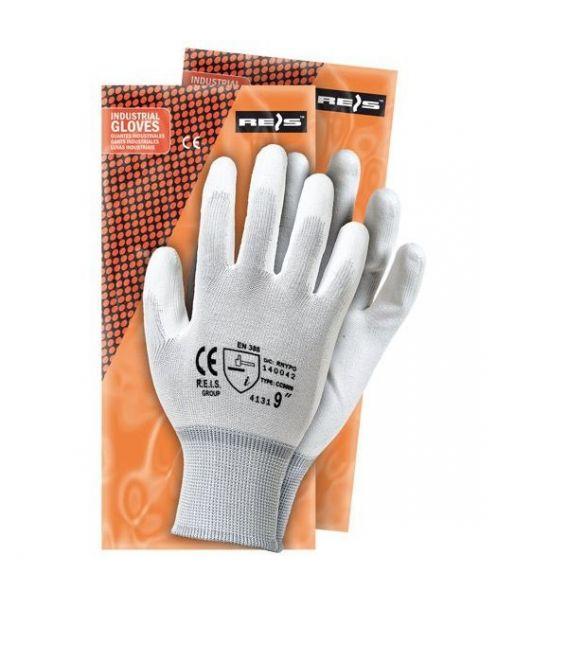 Rękawice z nylonu, powlekane poliuretanem RNYPO