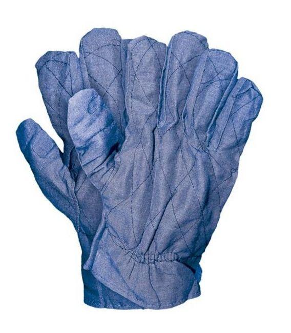 Rękawice drelichowe, pikowane RDP