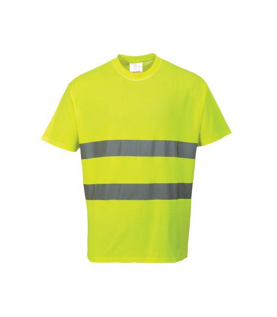 T-Shirt odblaskowy Cotton Comfort Portwest S172