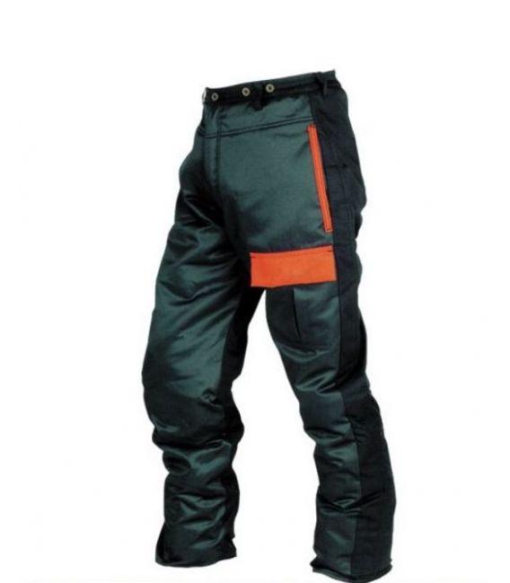Spodnie robocze do pasa FORESTRY ochrona przednia przed piłą łańcuchową