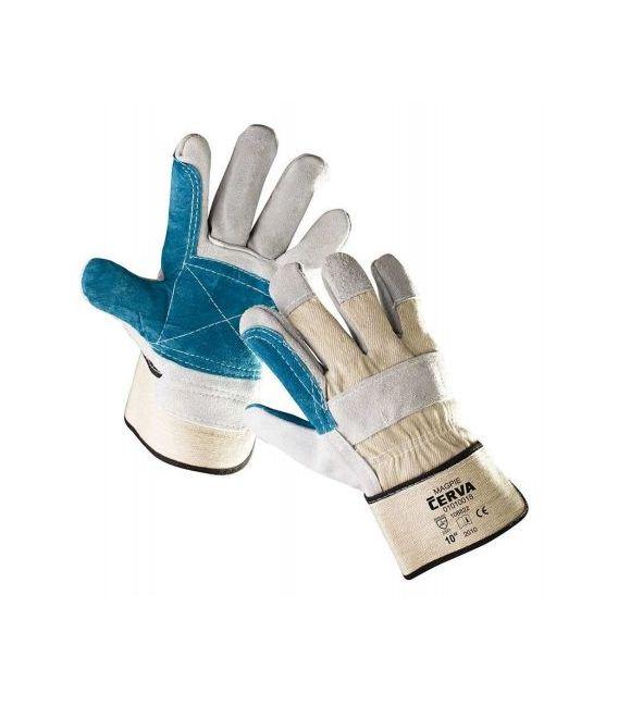 Rękawice wzmacniane skórą bydlęcą MAGPIE