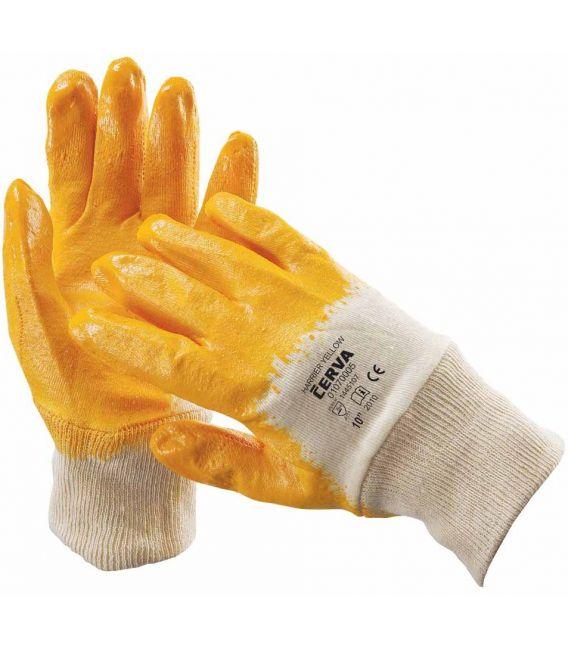 Rękawice powlekane nitrylem HARRIER YELLOW