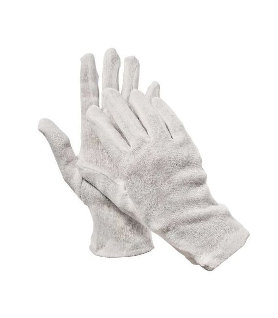 Rękawice bawełniane białe KITE