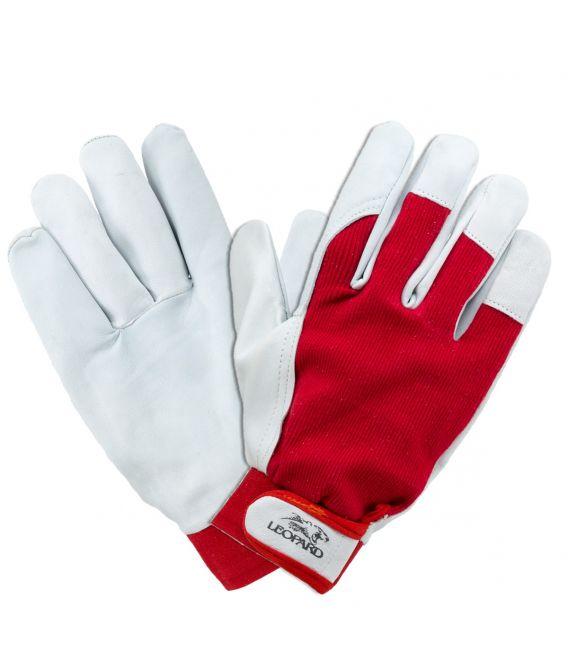 Rękawice wzmacniane skórą kozią LEOPARD 1202