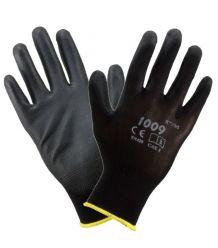 Rękawice powlekane poliuretanem wykonane z poliestru 1009