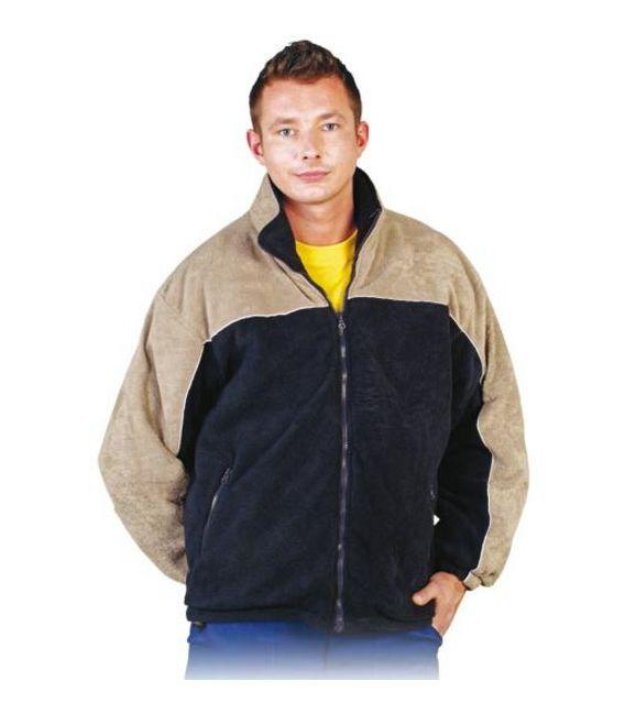Bluza polarowa dwukolorowa, wysoka jakość POL-POLAREX2