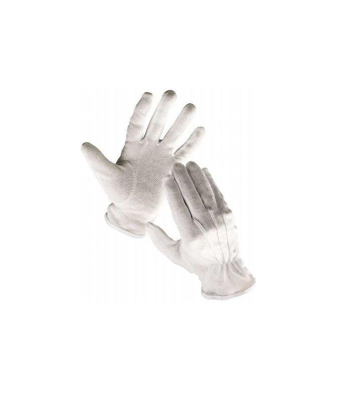 3e673e9223cd15 Rękawice Bawełniane Białe Z Mikronakropieniem Pcv, Frak Bustard ...