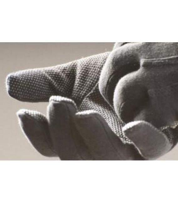 Rękawice bawełniane z mikronakropieniem PCV, FRAK BLACK BIRD