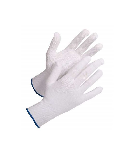 Rękawice bawełniane z mikronakropieniem PCV, FRAK BUSTARD EVO