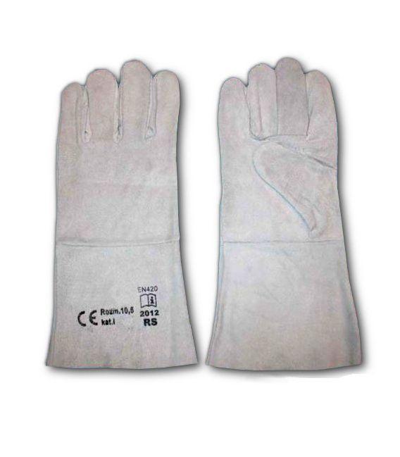 Rękawice skórzane z dwoiny bydlęcej RS