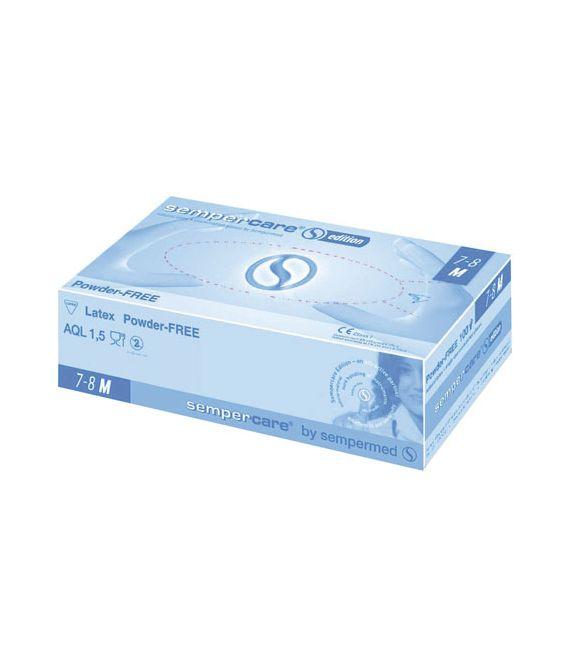 Sempercare® Edition PF, Rękawice jednorazowe bezpudrowe lateksowe