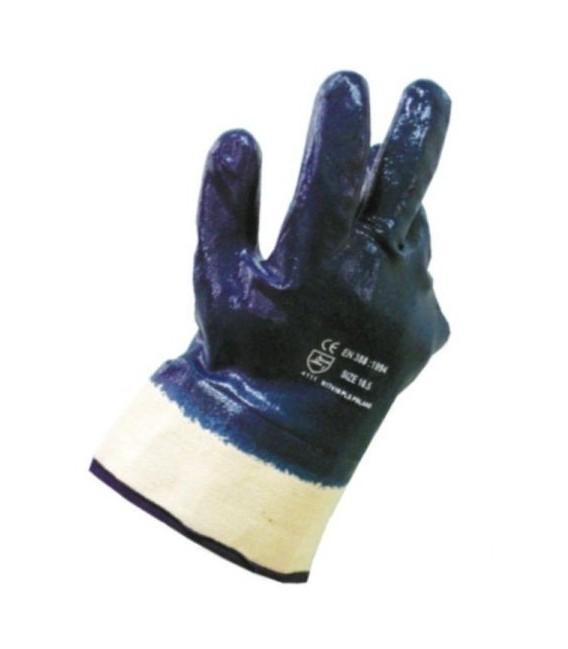 Rękawice ochronne, powlekane, nitryl cieżki DABSTER® rozm. 10