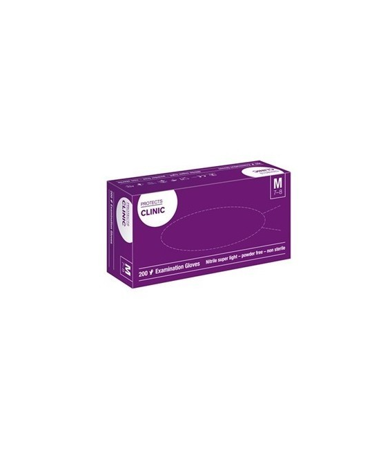 Protects Clinic Nitrile, super light