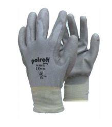 Rękawice powlekane poliuretanem szare POLROK PK 600 G