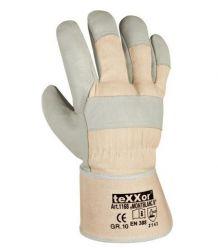 Rękawice wzmacniane skórą lico MONTBLANC III TEXXOR 1168