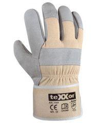 Rękawice wzmacniane dwoina bydlęca Rhon teXXor 1141
