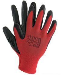 Rękawice ochronne powlekane nitrylem RTENI kolory