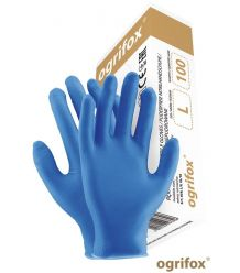 Rękawice nitrylowe jednorazowe bezpudrowe OX-NIT PF
