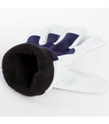 Rękawice ocieplane X-PERFECT WINTER wzmacniane skórą kozią