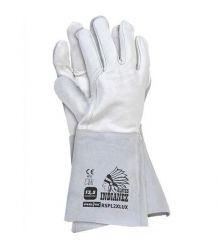 Rękawice spawalnicze w całości wykonane ze skóry RSPL2XLUX