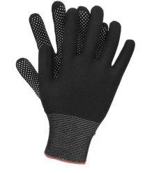 Rękawice poliestrowe nakropiane jednostronnie OX-DOTUA