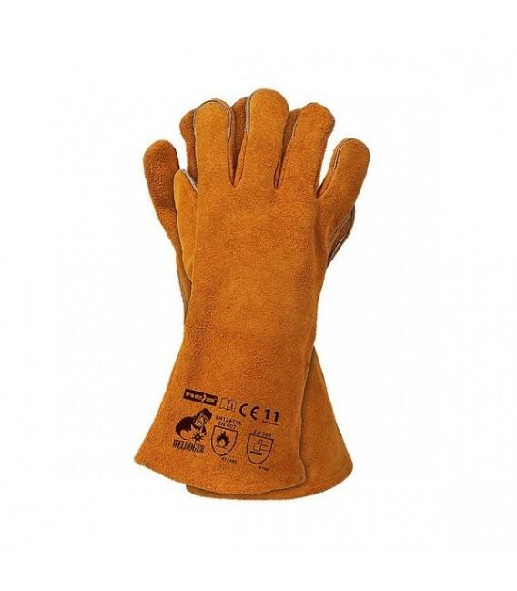 Rękawice spawalnicze dwoina bydlęca WELDOGER