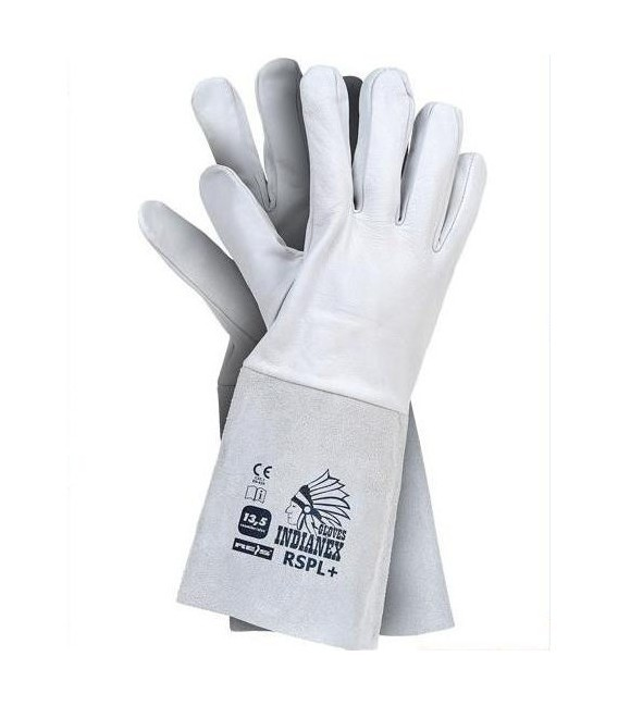 Rękawice w całości wykonane ze skóry koziej RSPL+