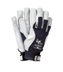 Rękawice skórzano-tkaninowe, licowa kozie RLEVEREST