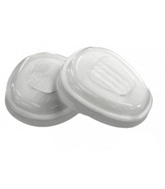 Przed-filtry P2 do półmaski FORCE8™ i maski FORCE10™ oraz pokrywa