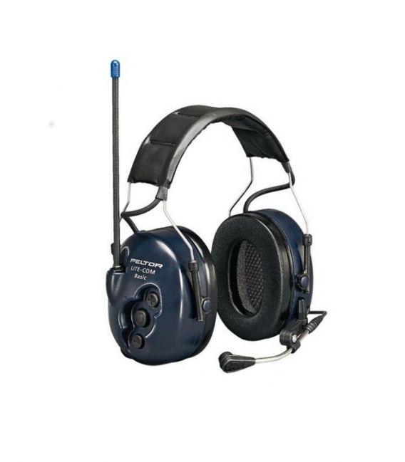 Ochronniki słuchu 3M PELTOR LITECOM z wbudowanym modułem komunikacji dwukierunkowej