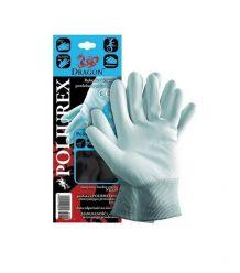 Rękawice ochronne wykonane z nylonu, powlekane POLIUREX