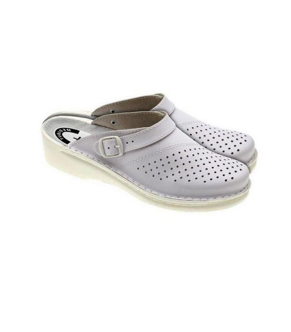 Buty profilaktyczne z przeciwpoślizgowym spodem MEDIBUT BMKLADZSP