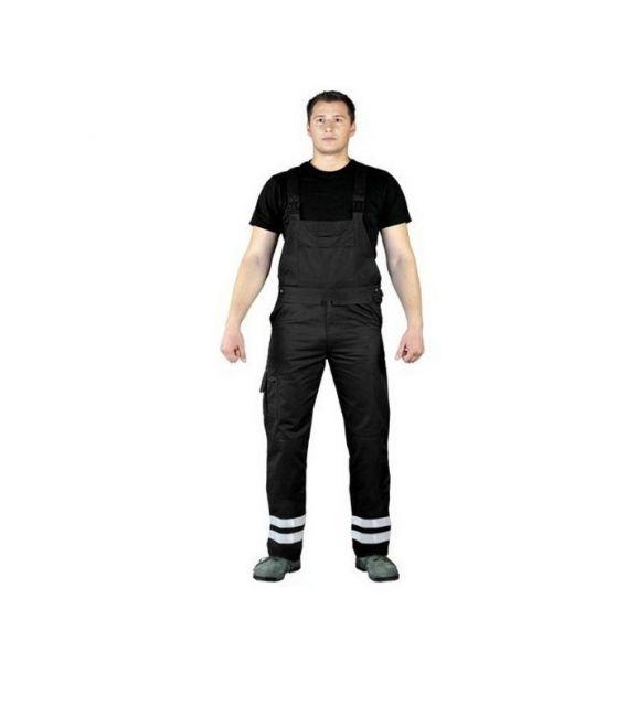 Spodnie robocze ogrodniczki odblaskowe LH-BISTER_X